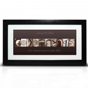 Affection Art Large Godparents Frame