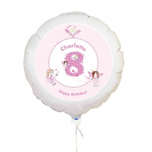 Fairy Numbers Balloon