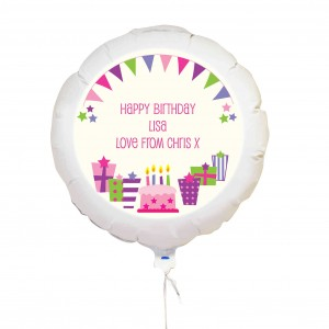Pink Presents Balloon