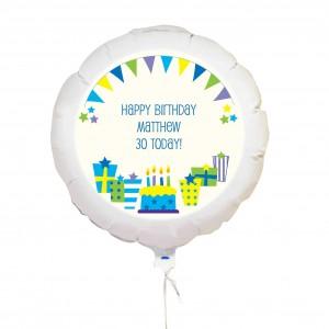 Blue Presents Balloon
