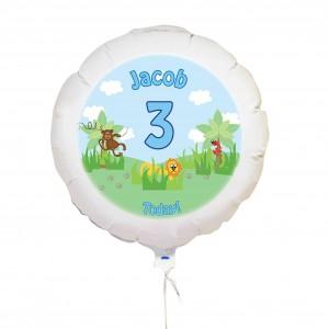 Blue Animal Balloon