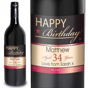 Happy Birthday Red Wine