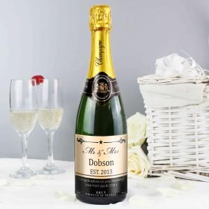 Mr & Mrs Champagne
