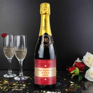 Hearts Swirl Champagne