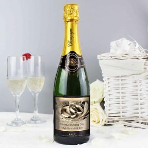 Wedding Rings Champagne