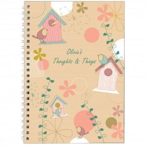 Spring Garden A5 Notebook