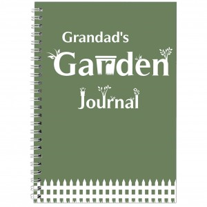 Garden Journal A5 Notebook