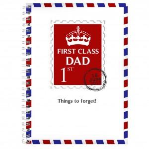 1st Class A5 Notebook
