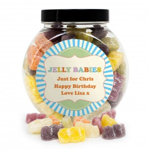 Jelly Babies Sweet Jar