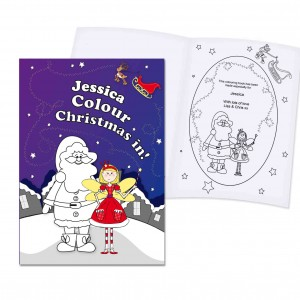 Its Christmas Fairy Colouring Book