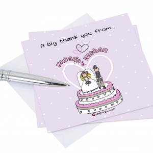 Bang on the Door Thank You Cards 20 Pack