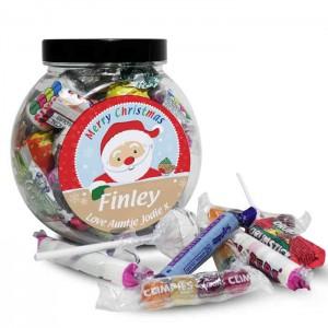 Santa Sweet Jar