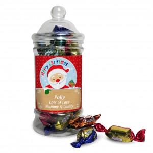 Santa Toffee Jar