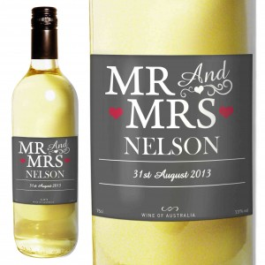 Mr & Mrs White Wine