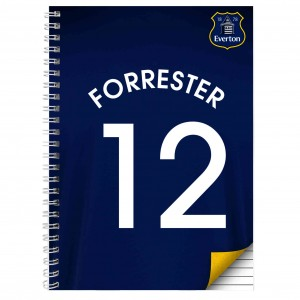 Everton A5 Notebook