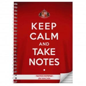 Sunderland Keep Calm A5 Notebook