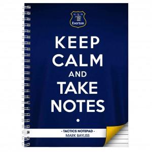 Everton Keep Calm A4 Notebook