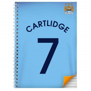 Manchester City A4 Notebook