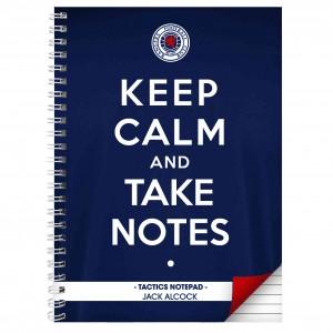 Rangers Keep Calm A4 Notebook
