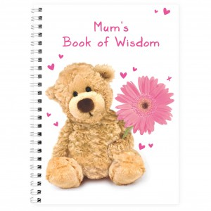 Teddy Flower A5 Notebook
