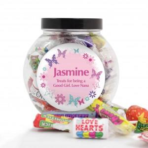 Butterfly Sweets Jar