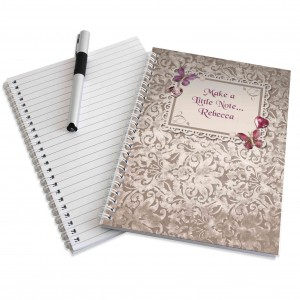 Butterfly Gem A5 Notebook