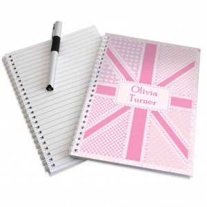 Pink Patchwork A5 Notebook