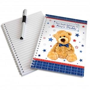 Teddy Bow Tie Notebook