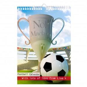 Football A4 Wall Calendar