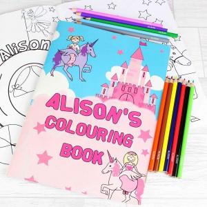 Princess Colouring Set
