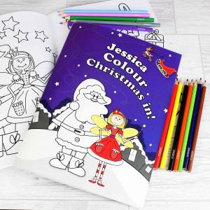 It's Christmas' Fairy Colouring Set
