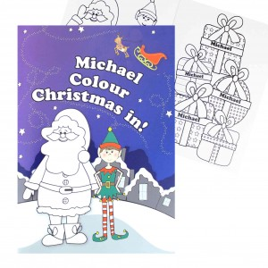 Its Christmas Elf Colouring Book