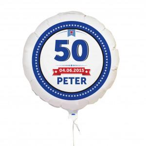 Birthday Star Balloon