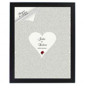 Romeo & Juliet Poster Frame