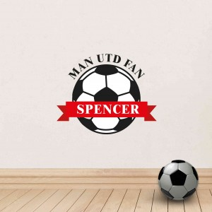 Red Football Wall Art