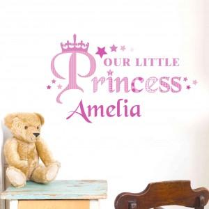 Our Little Princess Wall Art
