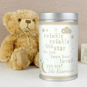 Twinkle Twinkle Teddy in a Tin