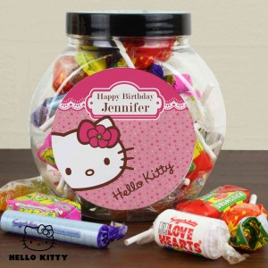Hello Kitty Floral Sweets Jar