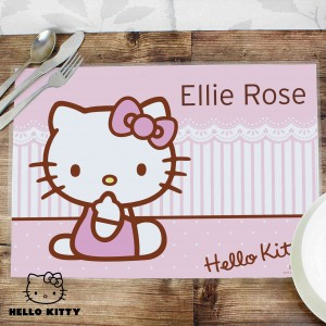 Hello Kitty Bow Placemat