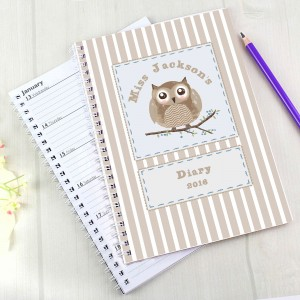 Woodland Owl A5 Diary