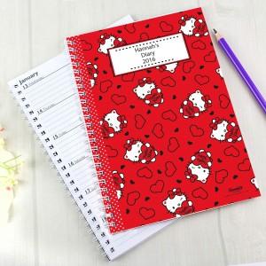 Hello Kitty Hearts A5 Diary