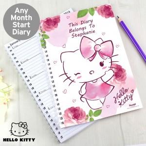 Hello Kitty Pink Blush A5 Diary