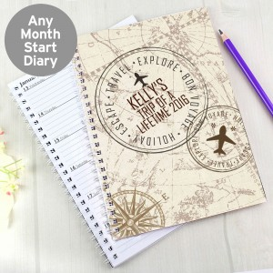 Travel A5 Diary