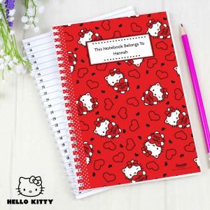 Hello Kitty Hearts Notebook
