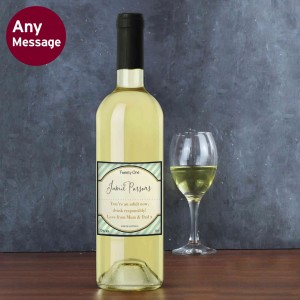 Green Stripe White Wine