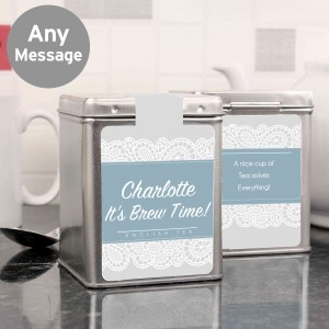 Dainty Lace Tea & Tin