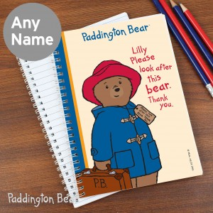 Paddington Bear 'Please look after me' Notebook
