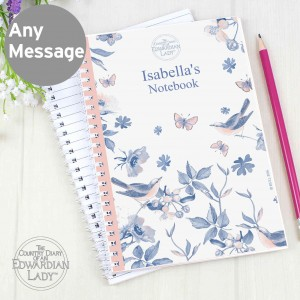 Country Diary Blue Blossom Notebook