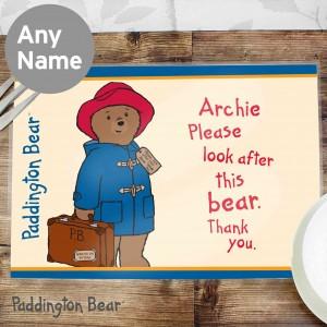 Paddington Bear Placemat