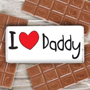 I Heart Milk Chocolate Bar